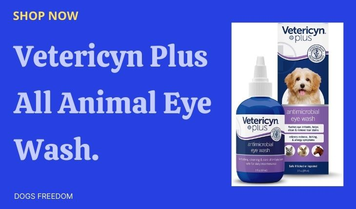 Vetericyn Plus All Animal Eye Wash.